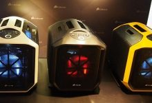 Photo of Gigabyte and Corsair gaming machine evaluate